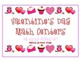 Valentine's Day Math Games & Centers