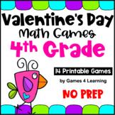 Valentine's Day Activities: Valentine's Day Math Games Fourth Grade
