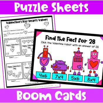 original-497080-4 Valentine Math Worksheets Free on activities for elementary, for 5th grade, candy heart, addition subtraction, for 1st grade,