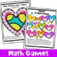 Valentine's Day Activity: Valentine's Day Math Games, Puzz