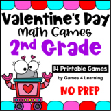 Valentine's Day Activities: Valentine's Day Math Games Sec