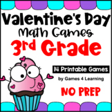 Valentine's Day Activities: Valentine's Day Math Games Third Grade