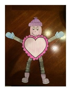 Valentine's Day Math Glyph Craftivity