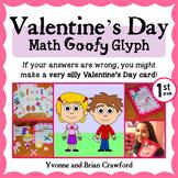 Valentine's Day Math Goofy Glyph (1st Grade Common Core)