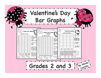 Valentine's Day Math- Graphing M&M's and Candy Hearts