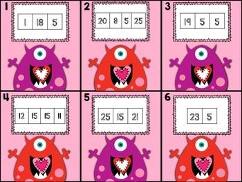 Valentine's Day Math & Literacy Activities