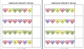 Valentine's Day Math & Literacy Activities
