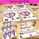 Valentine's Day Centers: Math & Literacy activities for Kindergarten