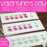 Valentine's Day Centers: Math & Literacy activities for Ki