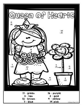 Valentine's Day Math & Literacy Packet - Print & Practice