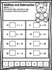 Valentine's Day Math & Literacy Print and Go (First Grade)
