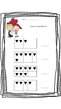 Valentine's Day Math & Literacy Unit