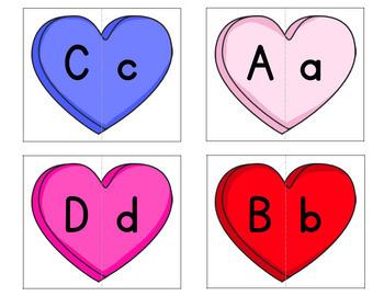 Valentine's Day Math and Literacy Centers for Pre-K and Kindergarten