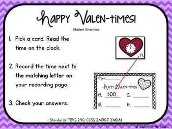 Valentine's Day Math & Literacy for 2nd/3rd Grade