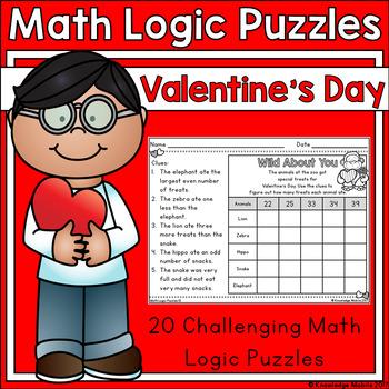 Valentine's Day - Math Logic Puzzles