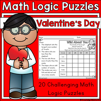 Valentine's Day - Math Logic Puzzles