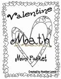 Valentine's Day Math Mini Packet