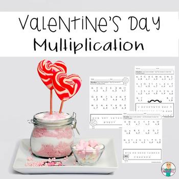 Valentine's Day Math (Multiplication)