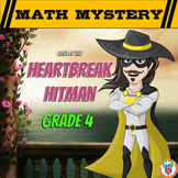 4th Grade Valentine's Day Math Mystery Activity - Printable & Digital Worksheets