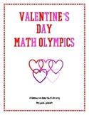 Valentine's Day Math Olympics
