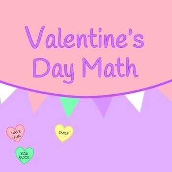 Valentine's Day Math Pack (Upper Elementary)