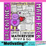 Valentine's Day Math: Worksheets: 4th Grade