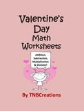 Valentine's Day Math Worksheets