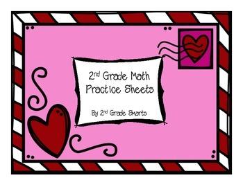 Valentine's Day Math Printables - 2nd Grade