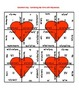 Valentine's Day Math Puzzle - Algebra - Combining Like Terms with Polynomials