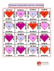 Valentine's Day Math Puzzle - Factoring & FOIL Method (A greater than 1)