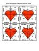 Valentine's Day Math Puzzle - Algebra -  Multiplication of Polynomials