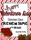 5th Grade Valentine's Day Math Game {5th Grade CCSS}