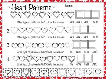 Valentine's Day Math Set