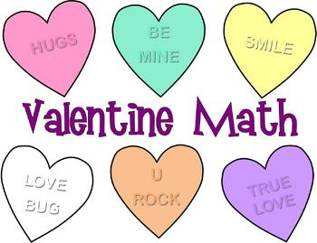 Valentineu0027s Day Math Sort And Graph Activity