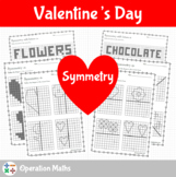 Valentine's Day Math - Symmetry