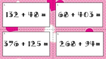 FREE Valentine's Day Math Task Cards