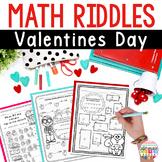 Valentines Day Math Worksheets #2