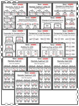 Valentines Day Math Worksheets 2nd Grade