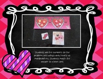 Valentine's Day Math and Literacy Centers Common Core Aligned