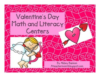 Valentine's Day Math and Literacy Centers for the Common Core Classroom