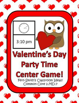 St Valentine's Day Math and Literacy Centers