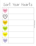 Valentine's Day Math and Literacy Set