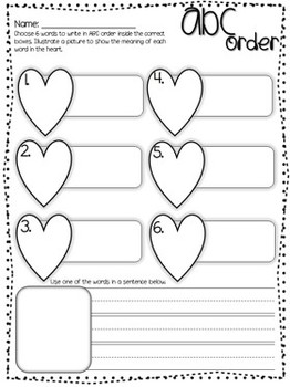 Valentines Day Math and Literacy Stations {15 Activities}
