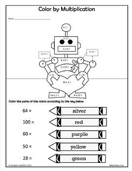 Valentine's Day NO PREP Printables - Fourth Grade Common Core Math and Literacy