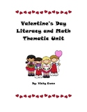 Valentine's Day Math and Literacy Unit