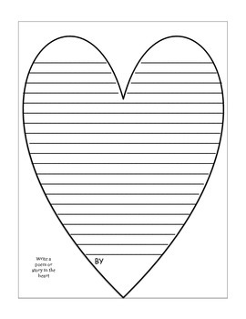 Valentine's Day Math and Writing Activity Book