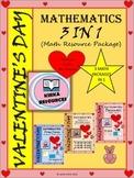 Valentine's Day - Math - Fractions and Decimals - Grade 4, Grade 5 & Grade 6