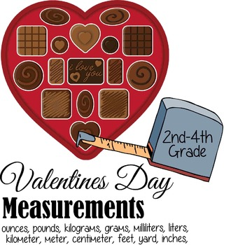 Valentines Day Measurement Activity & Worksheets