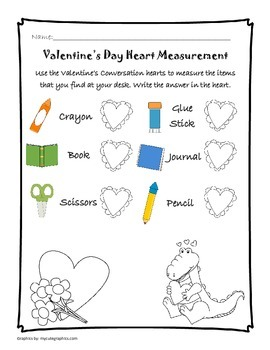 Valentine's Day Measurement - FREEBEE