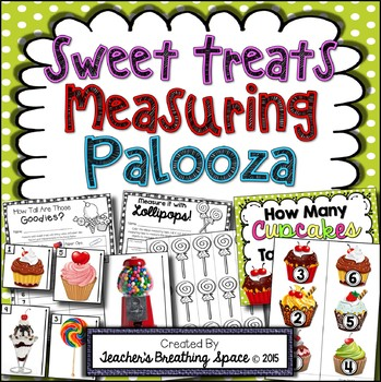 Valentine's Day Measuring --- Sweet Treats Measuring Palooza Measurement Centers